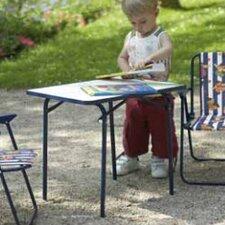 Mal- & Basteltisch Kinder-Camping