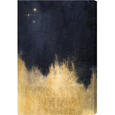Stars in the Night Gallery Painting Print on Wrapped Canvas