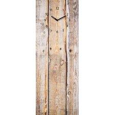 Analoge Wanduhr Time Board Timber XXL