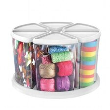 6 Piece Canister Carousel Organizer Set
