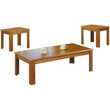 Chesser 3 Piece Coffee Table Set by Loon Peak