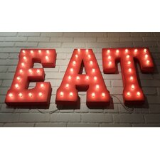Marquee EAT Sign Letter