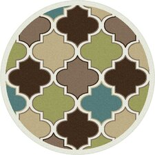 Berwick Green/Brown Area Rug