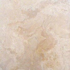 Tuscany Classic 16'' x 16'' Travertine Field Tile in Honed and Filled Beige