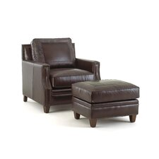 Gravely Club Chair and Ottoman by Darby Home Co