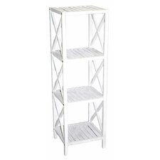 Bamboo 4 Tier 46 Etagere Bookcase by Bamboo54