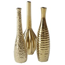 Gregory 3 Piece Table Vase Set