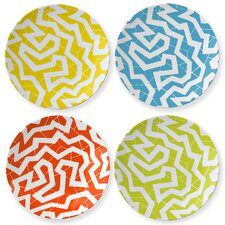 """Cooper Hewitt 8.5"""" 'Spinne' Coupe Plate (Set of 4)"""