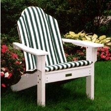 Outdoor Sunbrella Adirondack  Chair Cushion by Seaside Casual