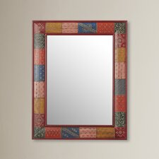 Nassirah Hand Painted Vanity Wall Mirror
