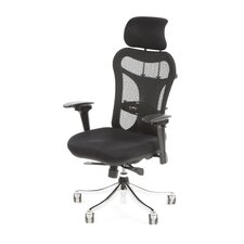Hyannis High-Back Mesh Executive Chair by Latitude Run