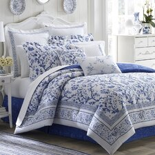 Charlotte Reversible Comforter Set by Laura Ashley Home