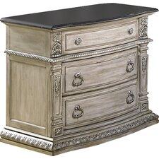 Toddington 3 Drawer Nightstand by Astoria Grand