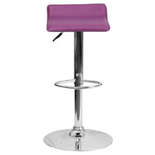 Adjustable Height Swivel Bar Stool by Zipcode™ Design