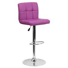 Faith Adjustable Height Swivel Bar Stool by Zipcode™ Design