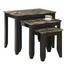 Boneta 3 Piece Nesting Tables by Charlton Home