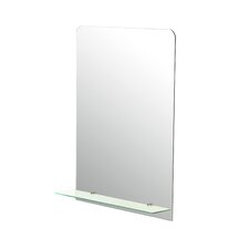 Frameless Wall Mirror by Brayden Studio
