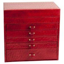 Jewelry Box 5 Drawer Nightstand