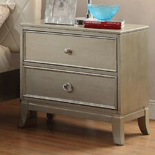 Erion 2 Drawer Nightstand by House of Hampton