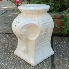 Tuntange Elephant Ceramic Garden Stool by Bungalow Rose