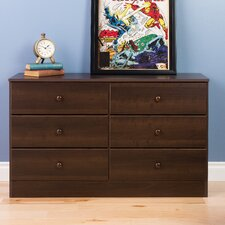 Bailey 6 Drawer Dresser