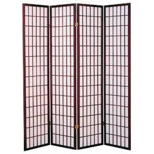 Vavra 70 x 69 4 Panel Room Divider by World Menagerie