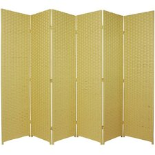 Bhatia 70.75 x 105 6 Panel Room Divider by World Menagerie