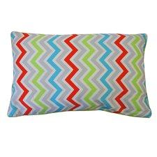 Barbara Zig Zag Cotton Lumbar Pillow