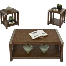 Creede 3 Piece Coffee Table Set by Loon Peak