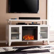 "Borovany 60"" TV Stand with Electric Fireplace"