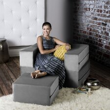 Colbie Modular Sleeper Chair with Ottoman by Latitude Run