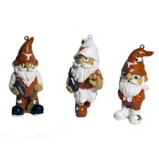 NCAA Gnome Ornament (Set of 3)