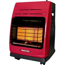 18,000 BTU Portable Propane Radiant Compact Heater