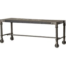 Arc Dome Metal Entryway Bench by Trent Austin Design