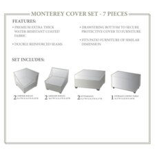 Monterey Winter 7 Piece Cover Set by TK Classics