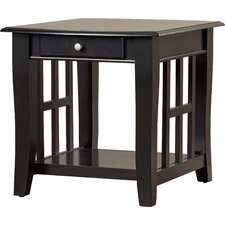 Jennings End Table by Alcott Hill