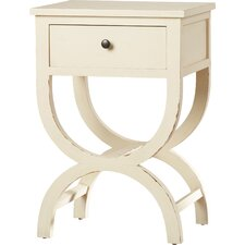 Laverriere 1 Drawer End Table by One Allium Way