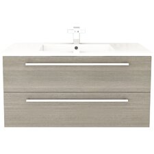 "Silhouette 36"" Single Bathroom Floating Vanity Set"