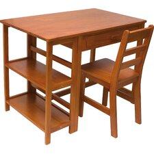 "Rosalyn Kid's 36"" W Writing Desk & Chair Set"