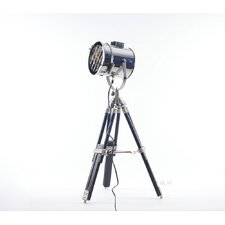 """Stainless Steel 35"""" Tripod Table Lamp"""
