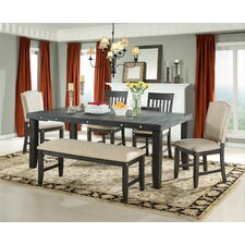 Marseille Provence Wood Dining Bench by Vilo Home Inc.