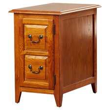Apple Valley Cabinet End Table by Charlton Home