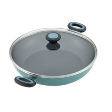 """Riverbend 12.5"""" Nonstick Frying Pan with Lid"""
