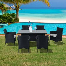 6 Seater Dining Set with Cushions
