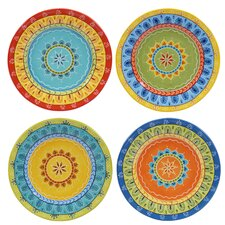 "Valencia 8.75"" Dessert Plates (Set of 4)"