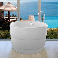 Aquatica PureScape 034 Freestanding Acrylic Bathtub by Aquatica