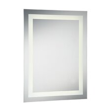Small Front-Lit LED Mirror