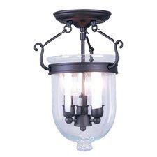 Lauder 3-Light Semi Flush Mount