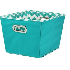 Wayfair Basics Chevron Storage Bin Set (Set of 2)