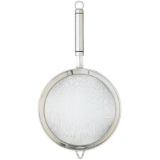 18cm Oval Handled Professional Stainless Steel Sieve